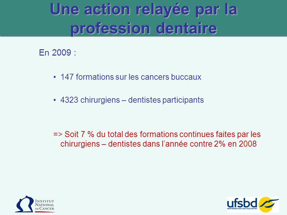 Une action relayée par la profession dentaire