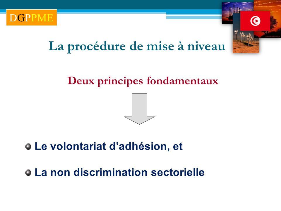 La procédure de mise à niveau Deux principes fondamentaux
