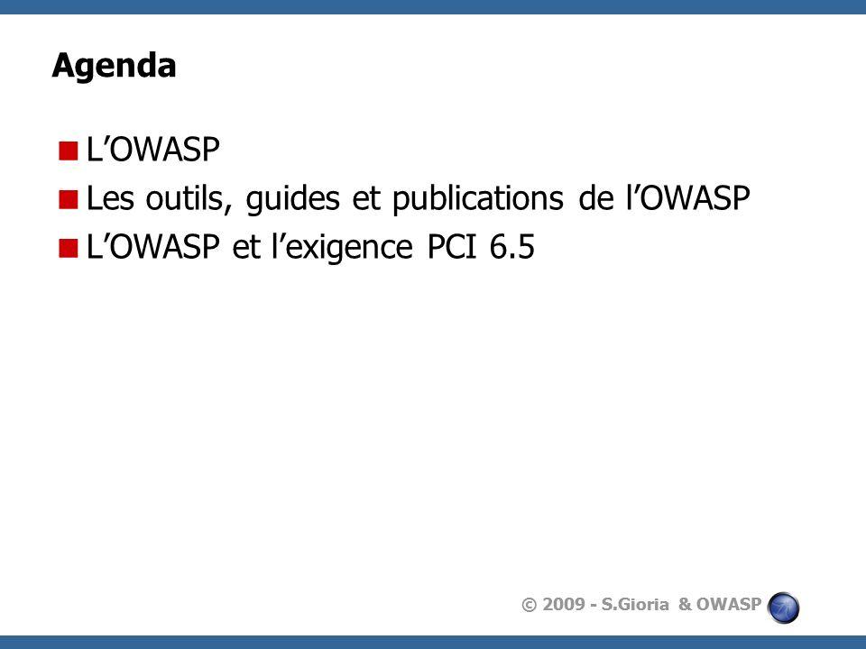 Les outils, guides et publications de l'OWASP
