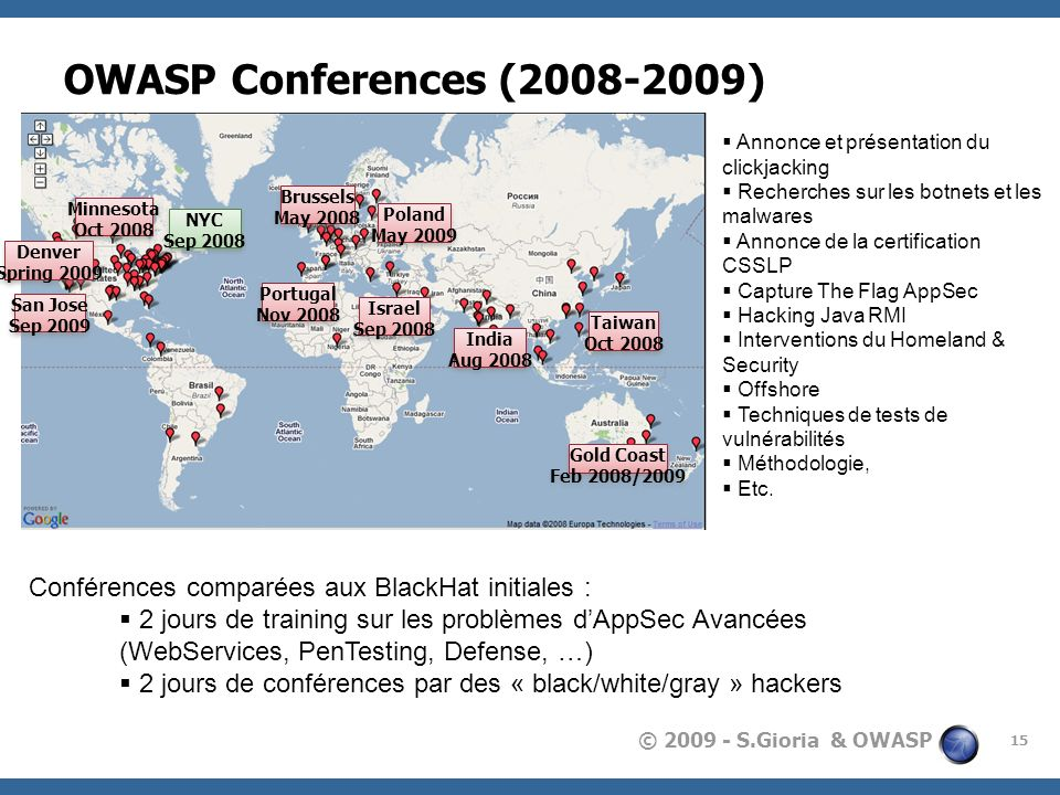 OWASP Conferences ( ) Australia – Justin Derry