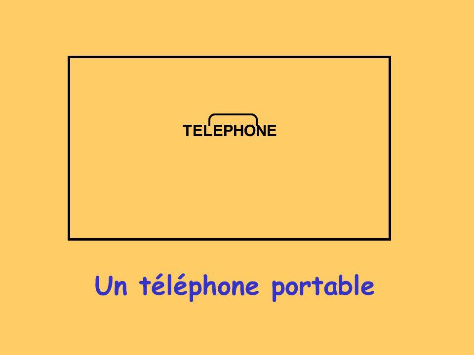 TELEPHONE Un téléphone portable