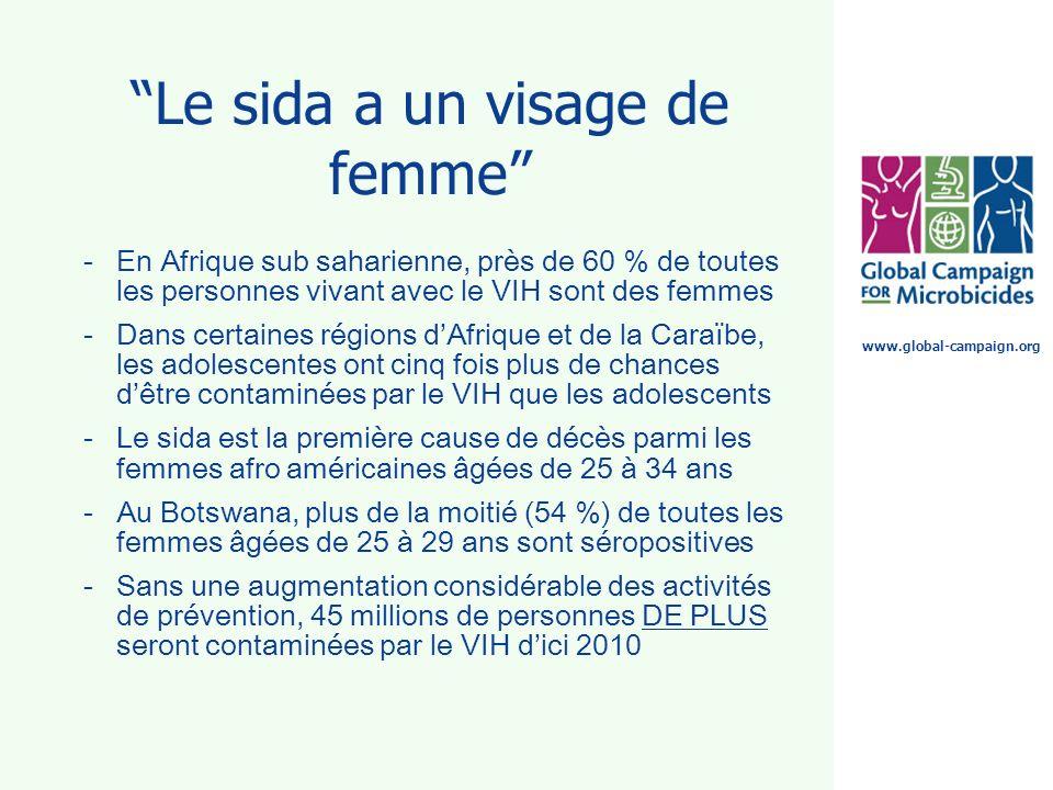 Le sida a un visage de femme