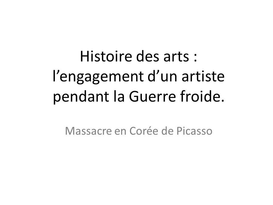 Massacre en Corée de Picasso