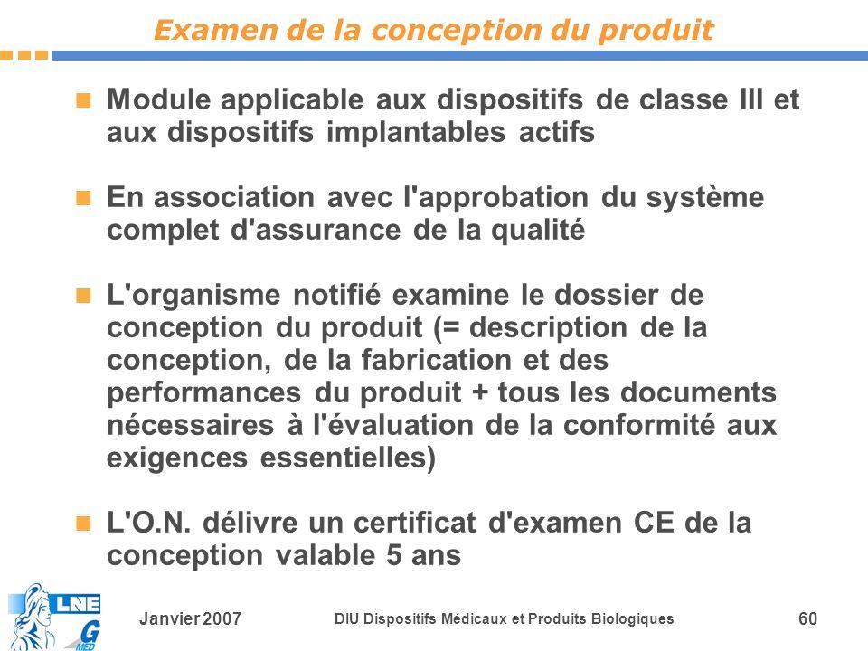 Examen de la conception du produit