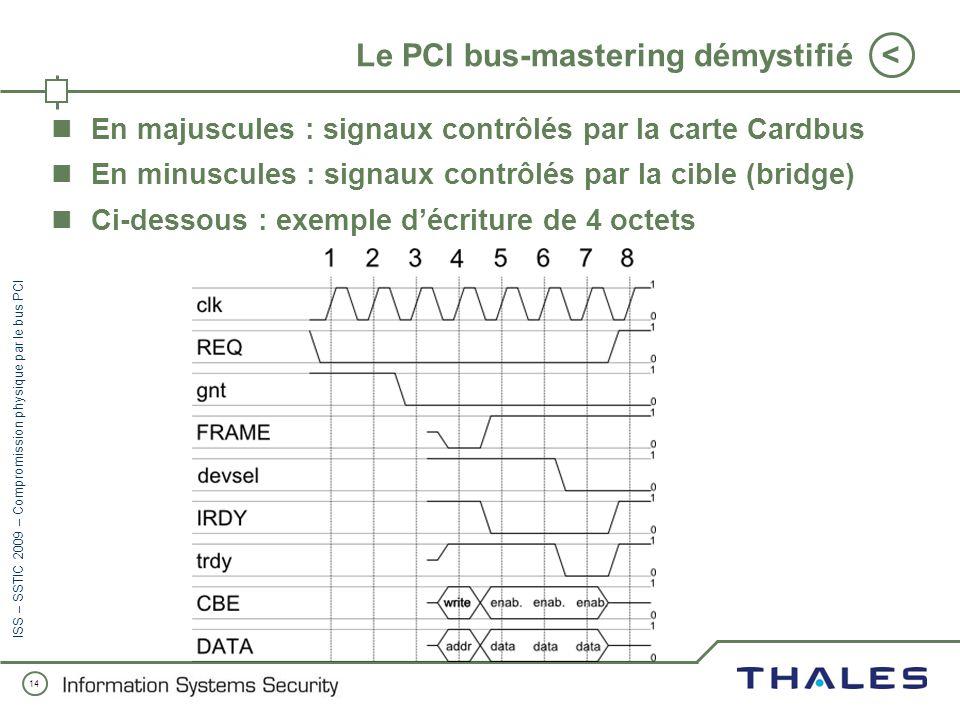Le PCI bus-mastering démystifié