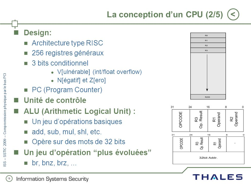La conception d'un CPU (2/5)