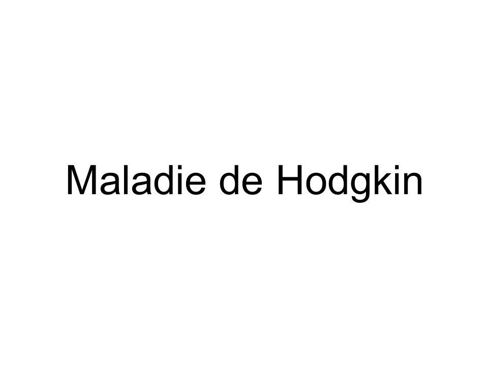 Maladie de Hodgkin