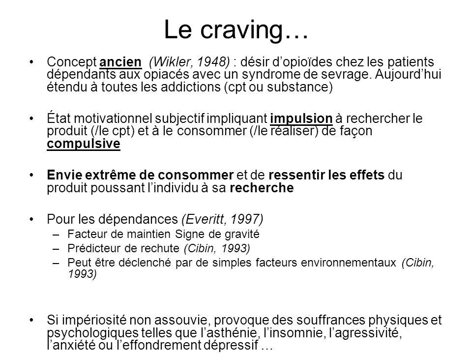 Le craving…
