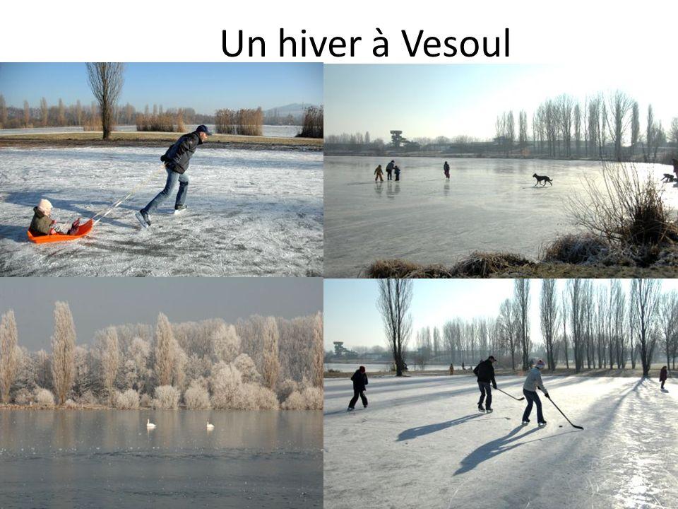 Un hiver à Vesoul