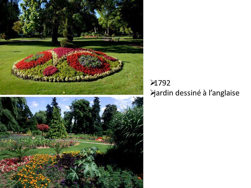 1792 jardin dessiné à l'anglaise