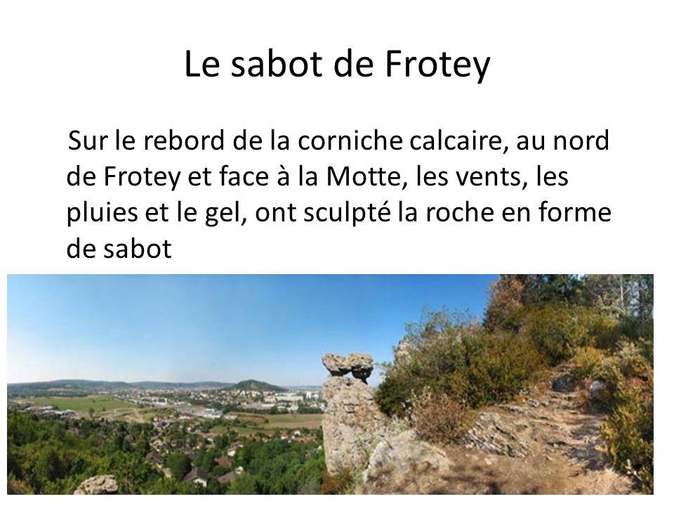 Le sabot de Frotey