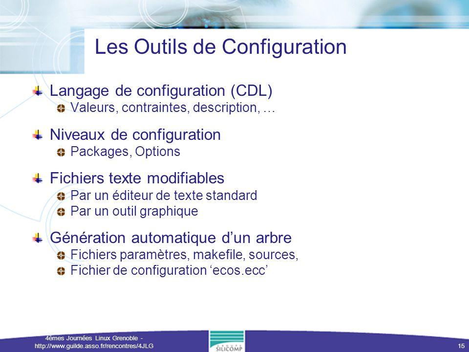Les Outils de Configuration