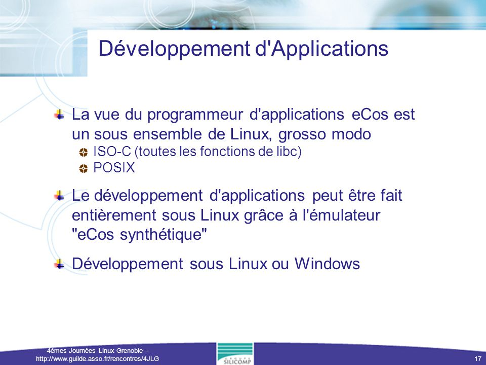 Développement d Applications