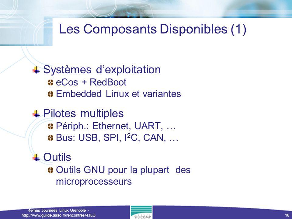 Les Composants Disponibles (1)