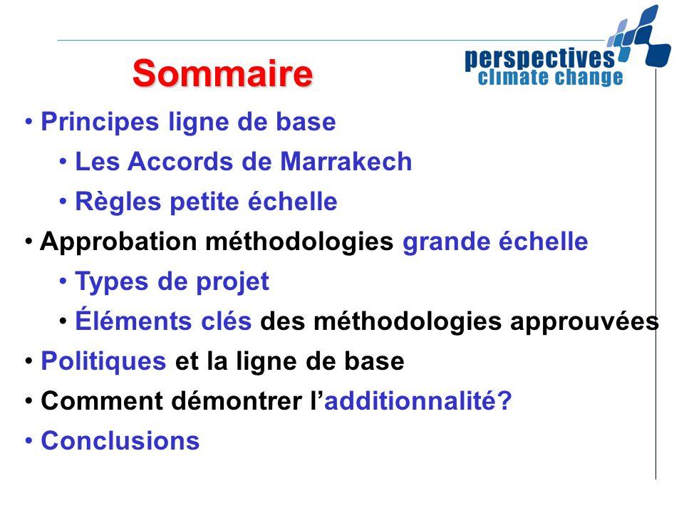 Sommaire Principes ligne de base Les Accords de Marrakech