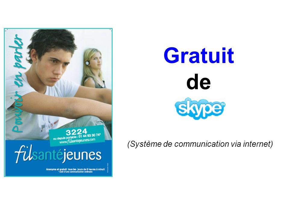 (Système de communication via internet)
