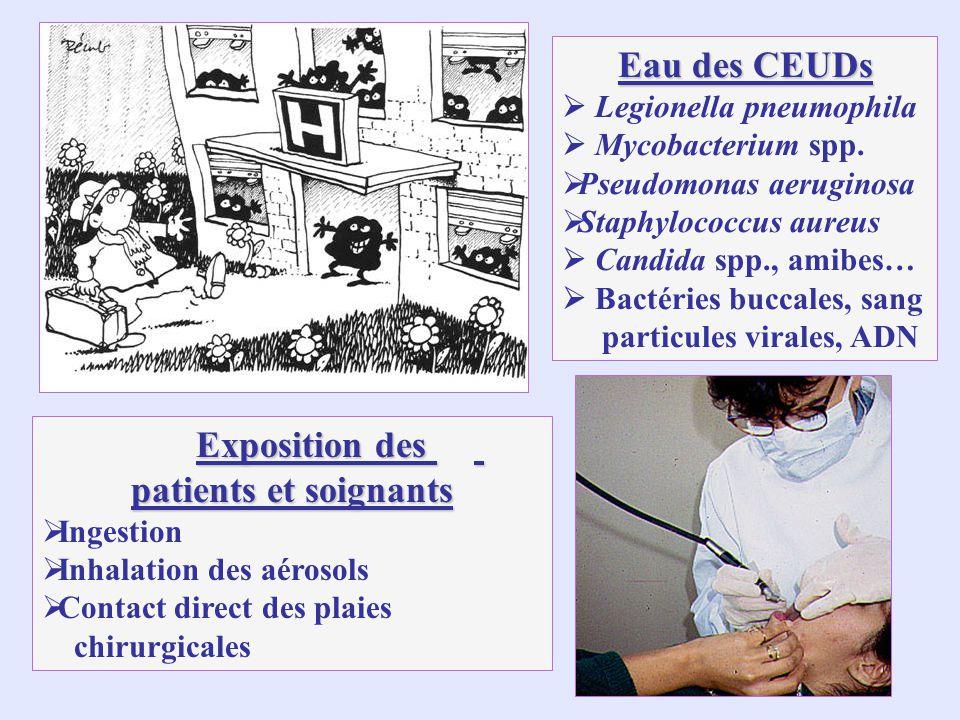 Exposition des patients et soignants