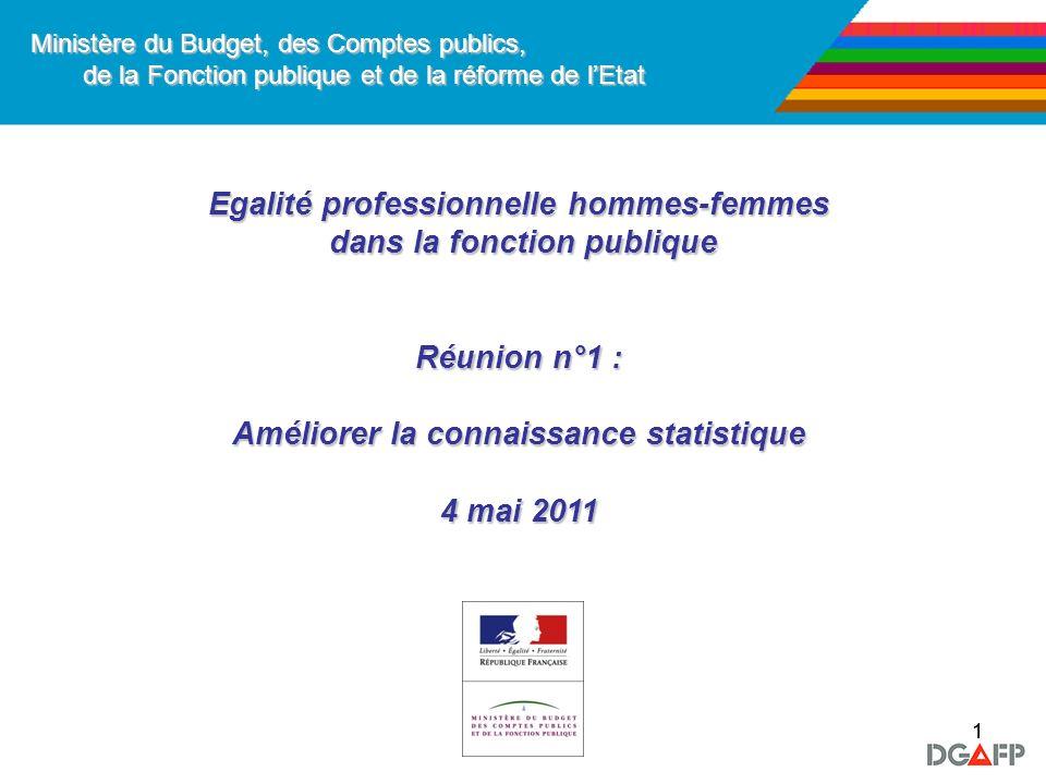Egalité professionnelle hommes-femmes dans la fonction publique