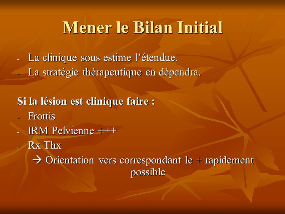  Orientation vers correspondant le + rapidement possible