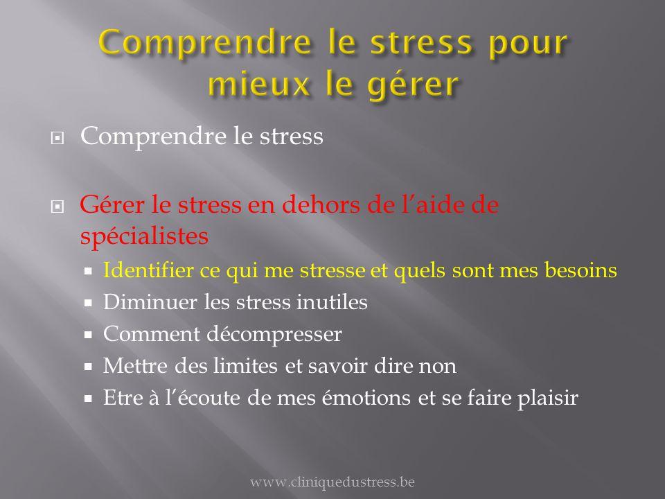 Comprendre le stress pour mieux le gérer