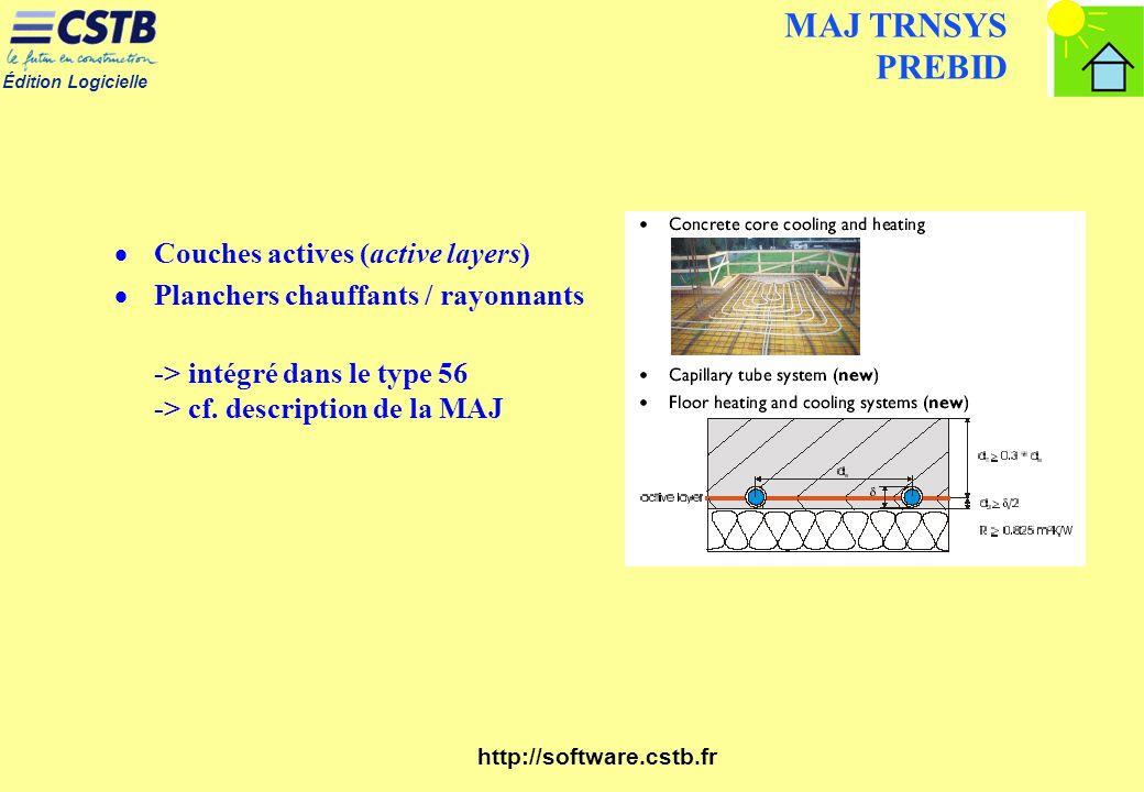MAJ TRNSYS PREBID Couches actives (active layers)
