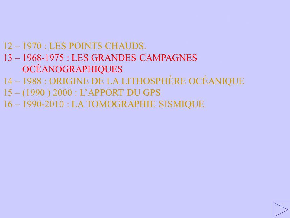 13 – 1968-1975 : LES GRANDES CAMPAGNES OCÉANOGRAPHIQUES
