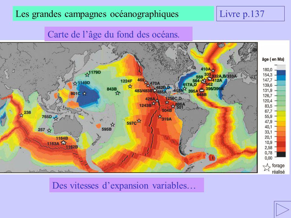 Les grandes campagnes océanographiques