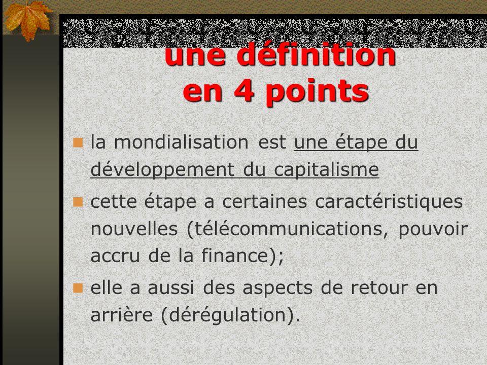 une définition en 4 points