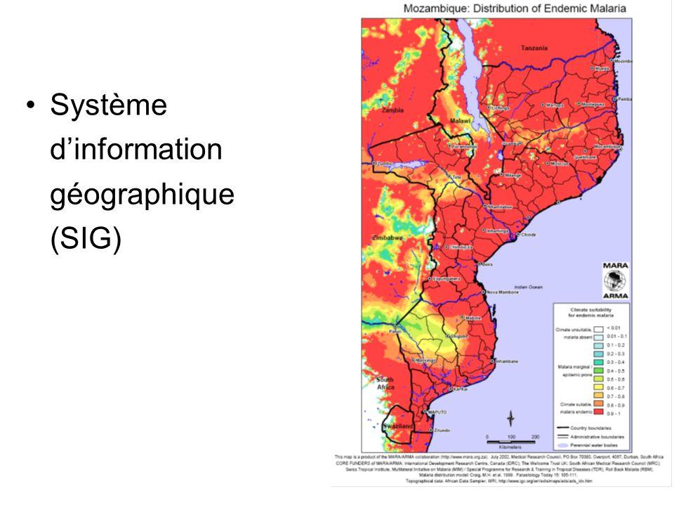 Système d'information géographique (SIG)