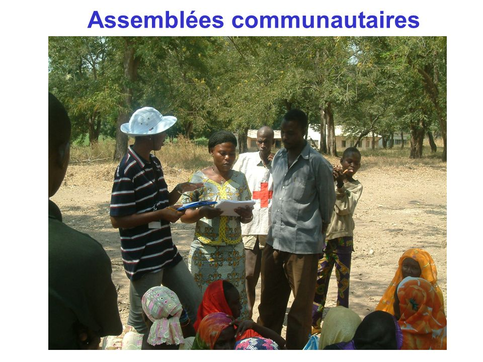 Assemblées communautaires