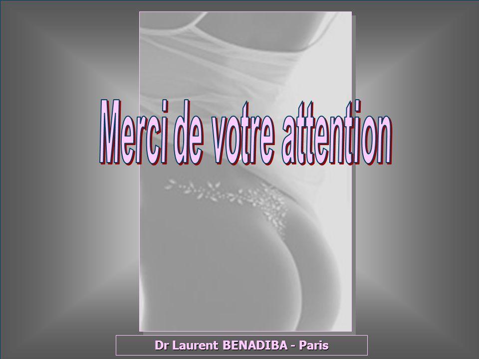 Merci de votre attention Dr Laurent BENADIBA - Paris