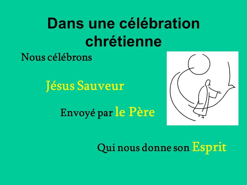 Dans une célébration chrétienne