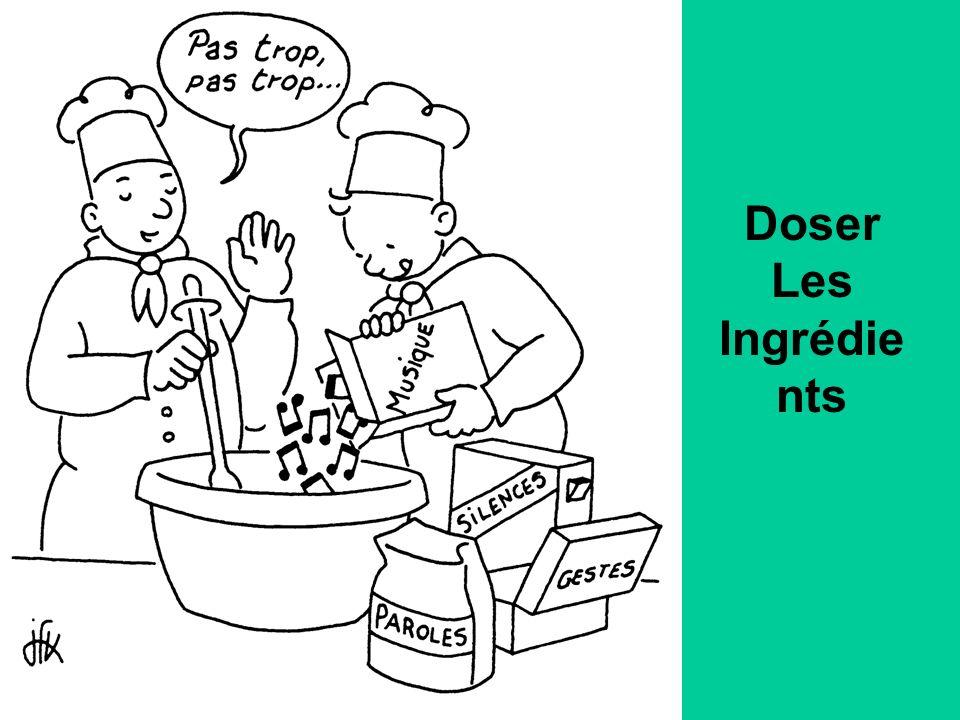Doser Les Ingrédients
