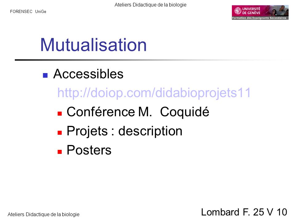 Mutualisation Accessibles http://doiop.com/didabioprojets11