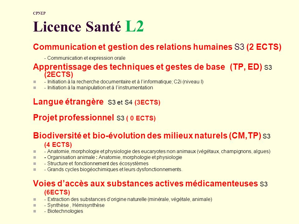 Communication et gestion des relations humaines S3 (2 ECTS)
