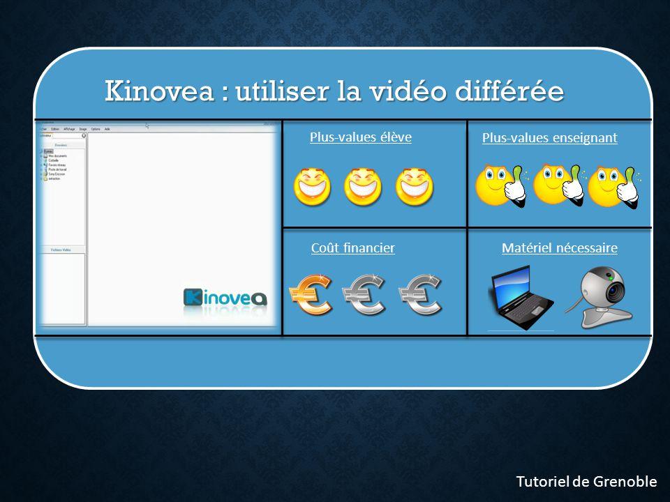 Kinovea : utiliser la vidéo différée