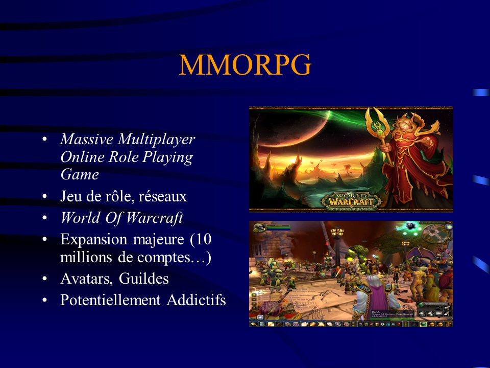 MMORPG Massive Multiplayer Online Role Playing Game