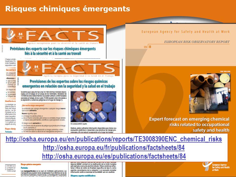 Risques chimiques émergeants