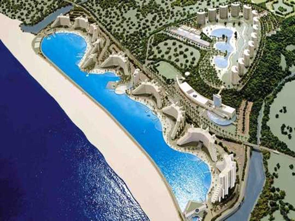 Autour de la piscine, le complexe doit comporter au total une dizaine d immeubles. Aucun hôtel, les appartements sont soit vendus, soit mis en locations.