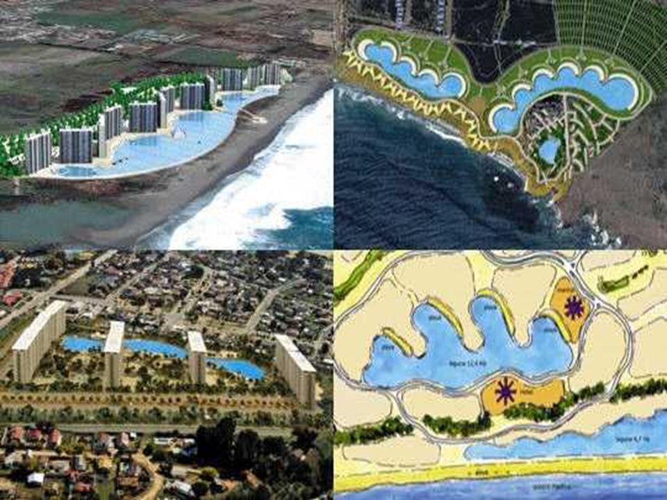 La société de Fernando Fischmann déborde d idées pour installer d autres complexes sur les côtes chiliennes. A la Serena, à Maitencillo, mais aussi une nouvelle fois à Algaborro, des projets similaires devraient sortir de terre prochainement.
