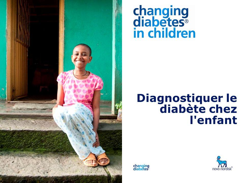 Diagnostiquer le diabète chez l enfant