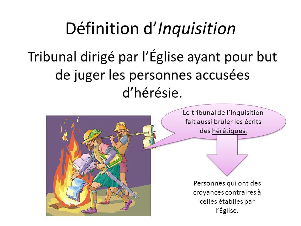 Définition d'Inquisition