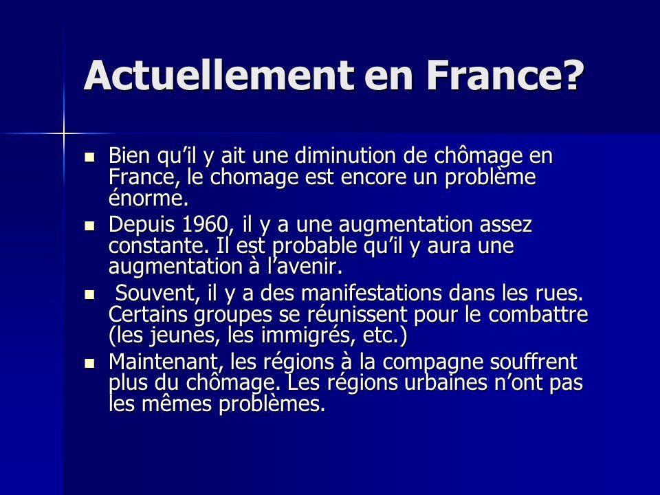 Actuellement en France