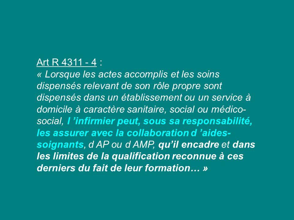 Art R 4311 - 4 :
