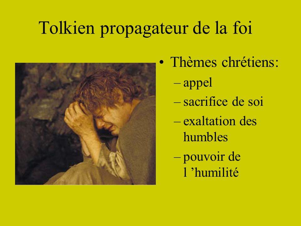 Tolkien propagateur de la foi