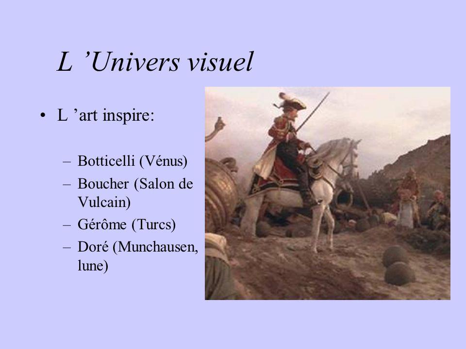 L 'Univers visuel L 'art inspire: Botticelli (Vénus)