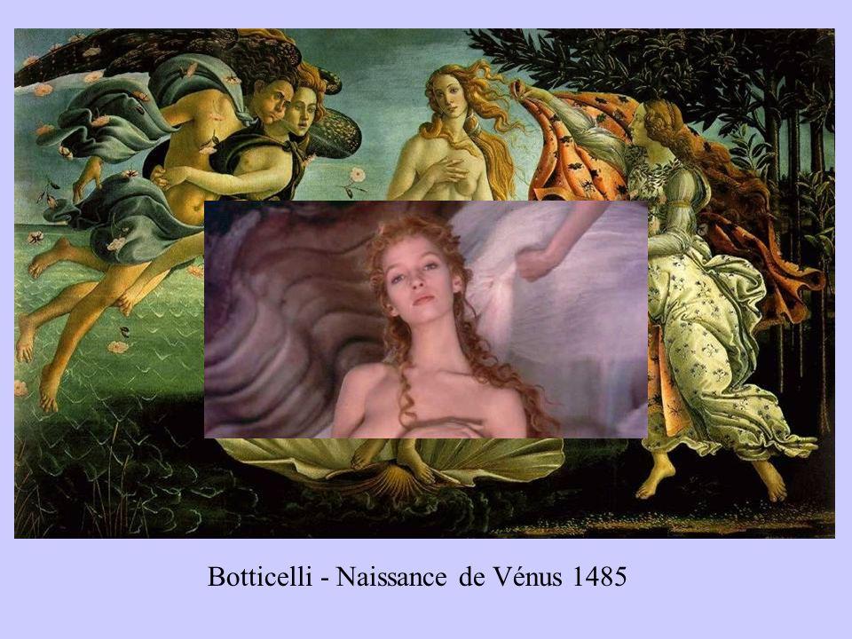 Botticelli - Naissance de Vénus 1485