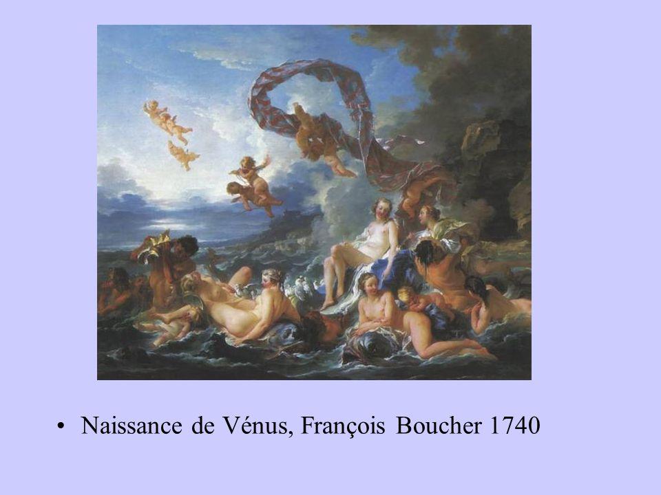 Naissance de Vénus, François Boucher 1740