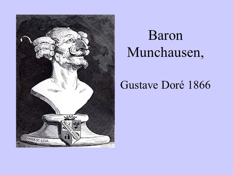 Baron Munchausen, Gustave Doré 1866