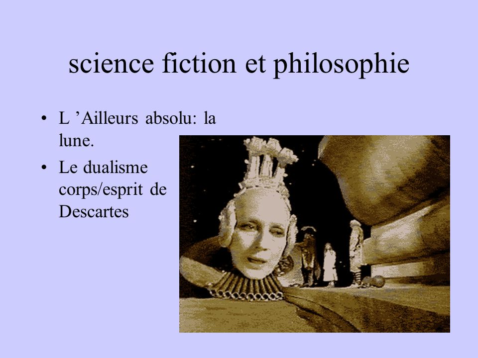 science fiction et philosophie